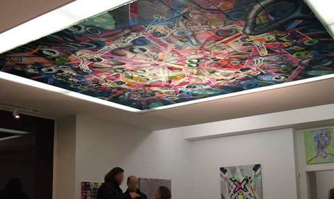 image: ceiling - 330 x 280 cm, 77-part